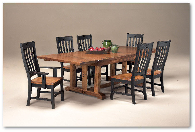 Rustic Mission Collection - Dining Room Set