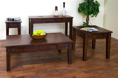 Santa Fe Coffee Table and End Tables