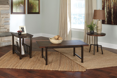 Riggerton 3 Piece Occasional Table Set