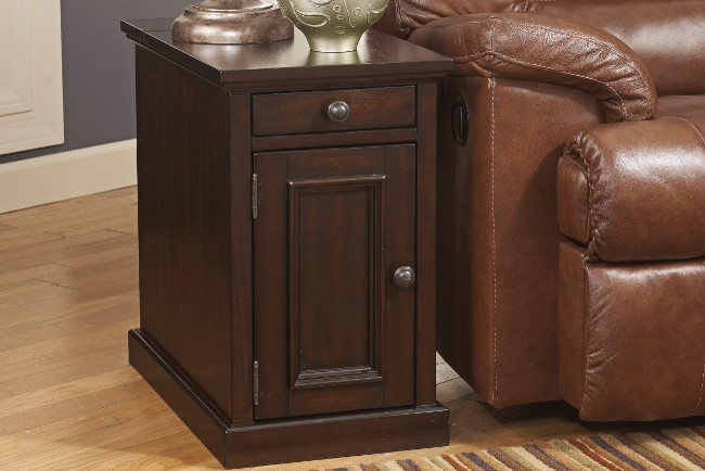 Power Chair Side End Tables