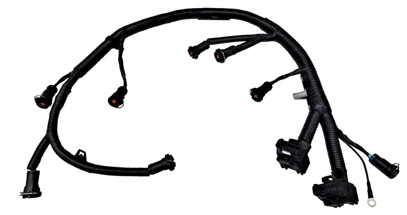 1238566397  Gmc Duramax Sel Engine Wiring Harness Supports on