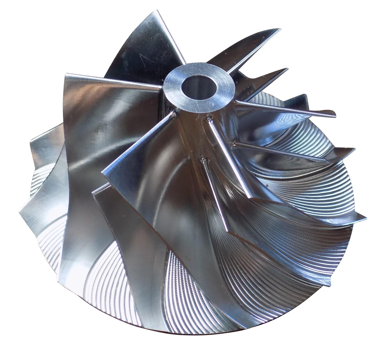 66l Lb7 Extended Tip Billet Turbo Compressor Wheel 60mm 2001 2004