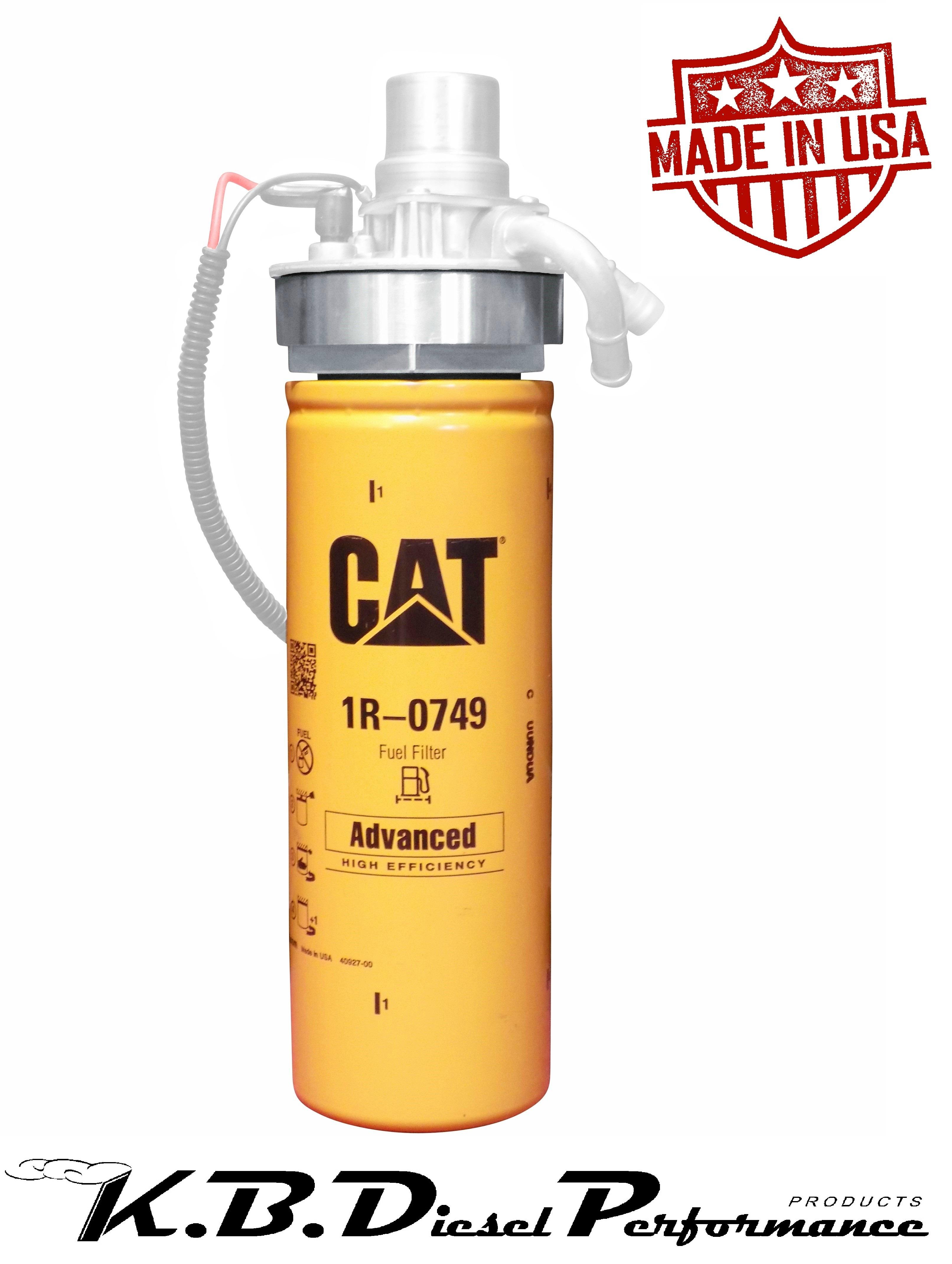 Kb Diesel 66l 2001 16 Duramax Cat Adapter W 1r 0749 Chevy Gmc 02 Fuel Filter Housing