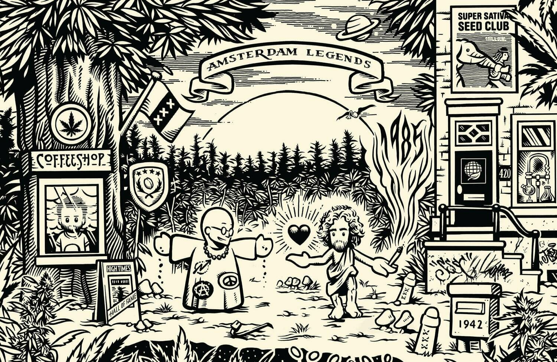 Эксклюзивная генетика старой школы! Super Sativa Seed Club в Toro Growshop.