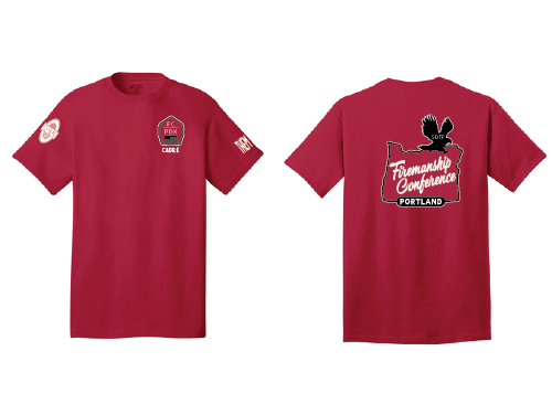 VOLUNTEERS/STAFF ONLY - Firemanship Conference Volunteer T-shirt