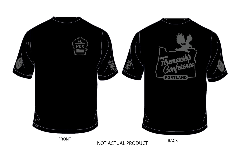 Firemanship Conference Gun metal T-shirt