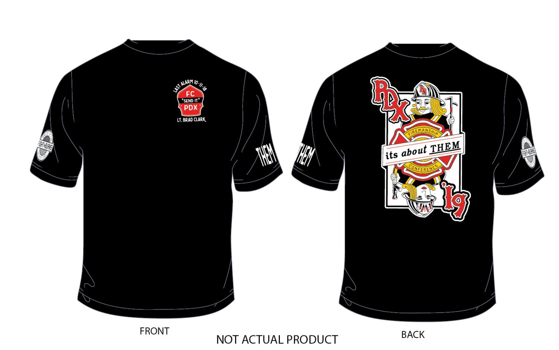 Firemanship Conference annual design T-shirt