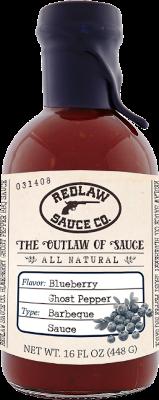 Blueberry Ghost Pepper BBQ Sauce