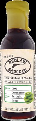 Kiwi Lemongrass Teriyaki Sauce