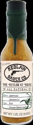 Serrano Scorpion Hot Sauce - Medium