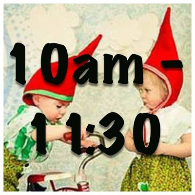 Little Gnomes Entrance Tickets 10am - 11:30am
