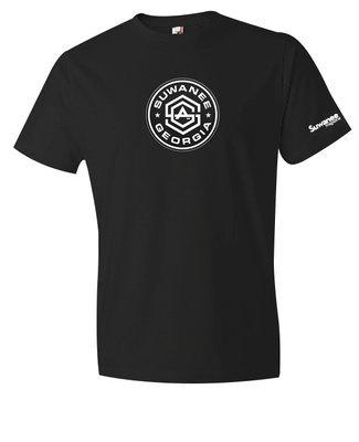 Suwanee Georgia Unisex T-shirt - Black
