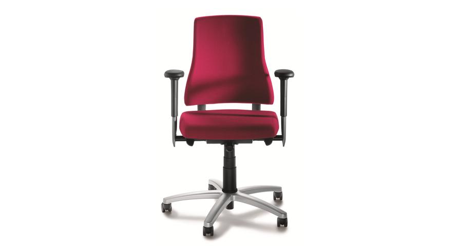 Axia Office: Starke Unterstützung dank breiter Rückenlehne und vielen Zusatzoptionen.