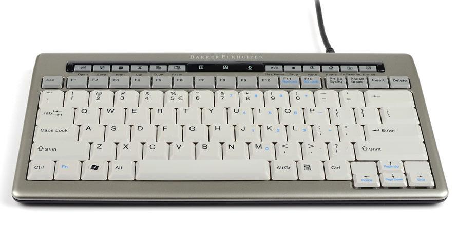S-Board 840: Kompakt, elegant und ergonomisch