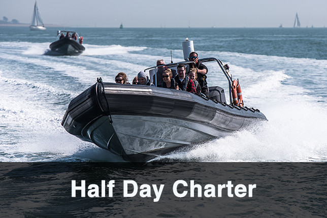 Half Day RIB Charter- PRICE- FREEZE