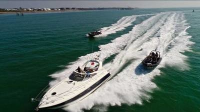 FAIRLINE TARGA 43 ISLE OF WIGHT CRUISE