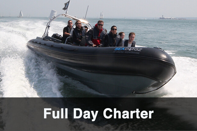 Full Day RIB Charter- PRICE- FREEZE