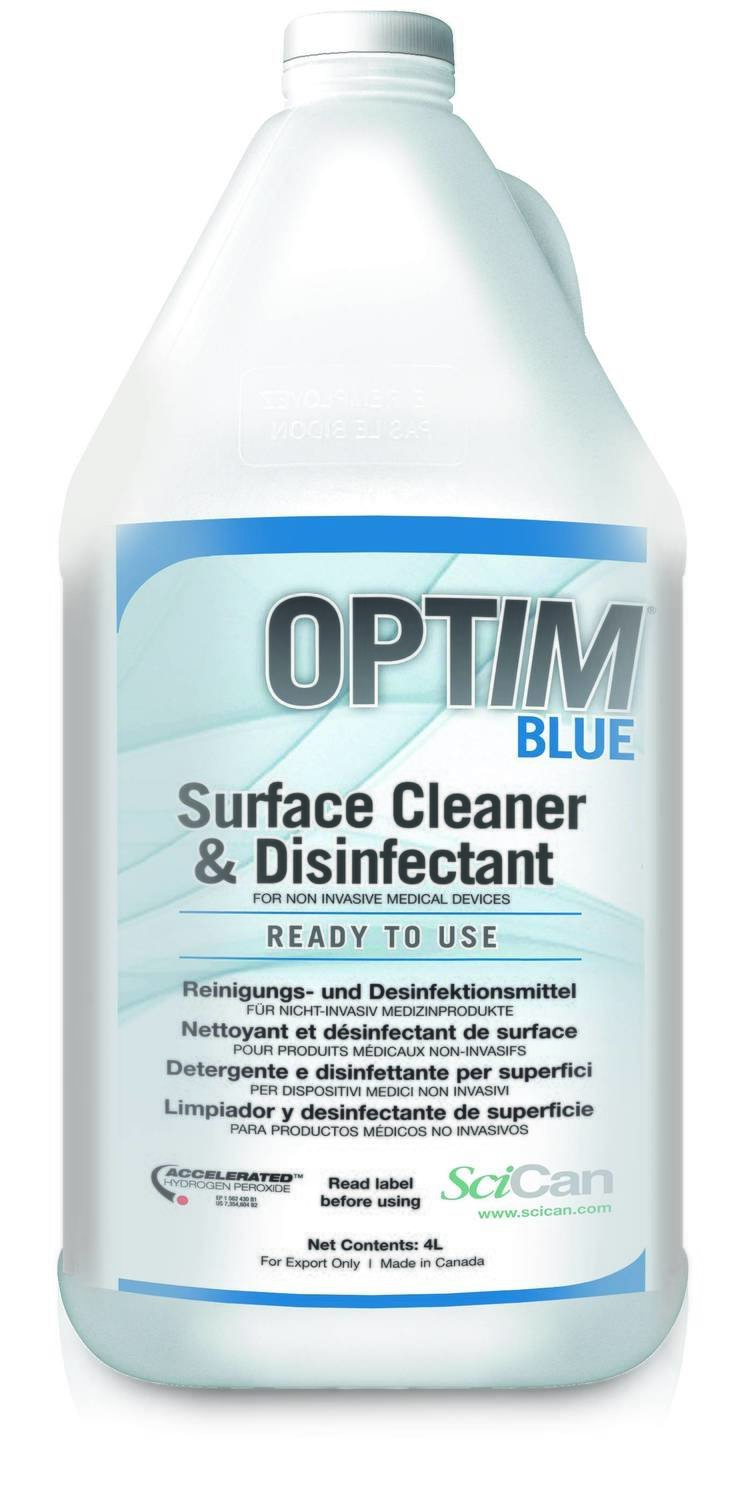 OPTIM BLUE 4L refills (4X4L/Case)
