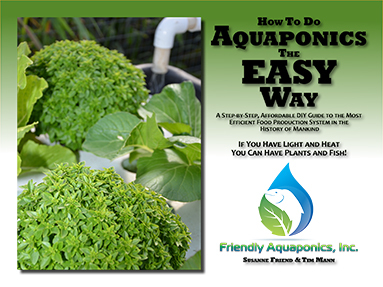 Aquaponics - The EASY Way! (One Printed AND SIX E-Books!) USPS Shipping  INSIDE The USA Included