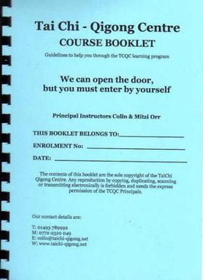 Tai Chi Qigong A5 Guidance Booklet