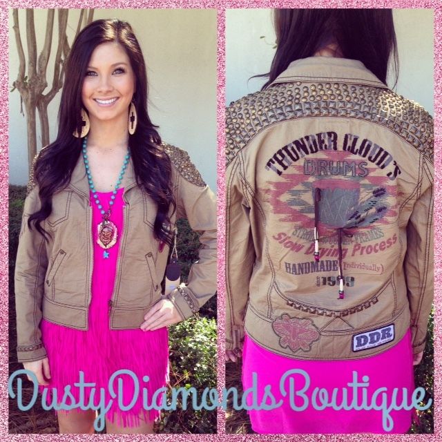 {Thunder Clouds} Double D Ranch Jacket