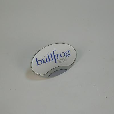60-1015, Label, Spa Medallion, Bullfrog