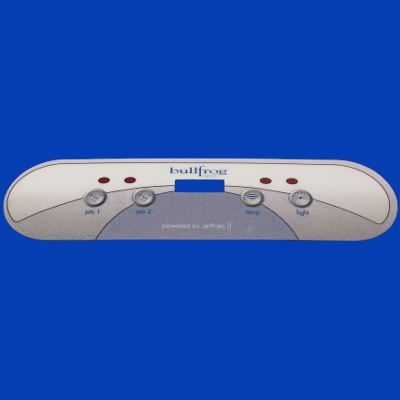 65-1134, Control, Overlay, Pad, Select, 2 Pump, 2004-2007 B-65-1134