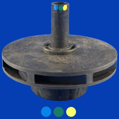 65-1375, Pump, AquaFlo, Impeller, 1.5/3.0 Hp, 60Hz, 48F