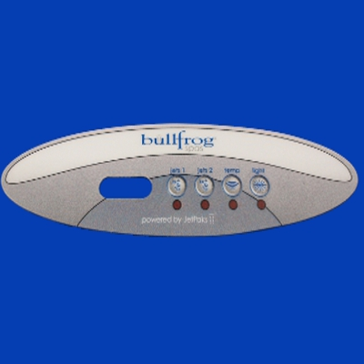 65-1610, Control, Overlay, Pad, Basic-2, 2006-2008 B-65-1610