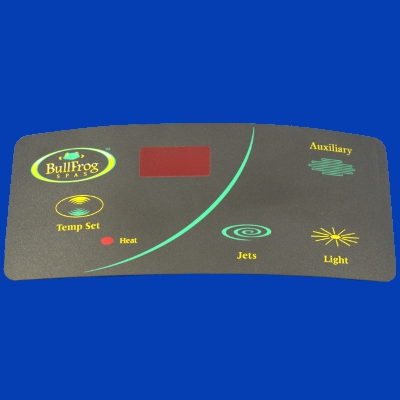 65-1127, Control, Overlay, Pad, Standard, 1 Pump, 1997-2003