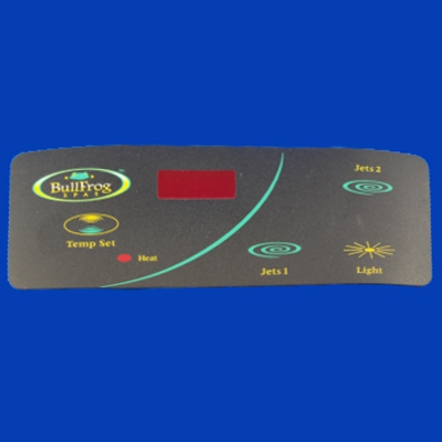 65-1128, Control, Overlay, Pad, Standard, 2 Pump, 1997-2003