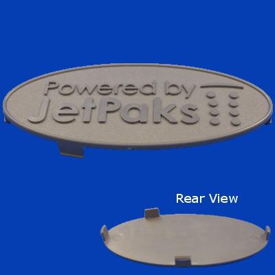 60-1235, Label, Spa Medallion, Jetpak, Snap-in, 2011-Present
