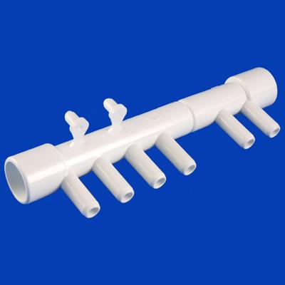 10-1455, PVC, AIR MANIFOLD 6 PORT
