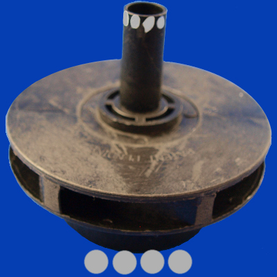 65-2117, PUMP, IMPELLER 2.0/4.0 HP, 60HZ SINGLE SPEED