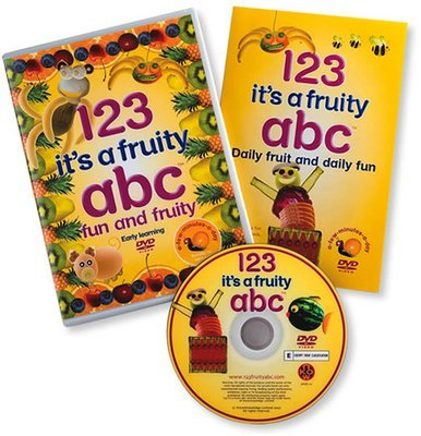 '123 it's a fruity abc' dvd Pal