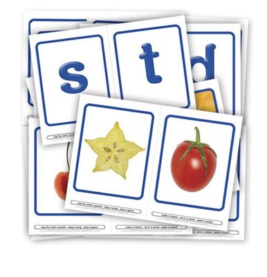 Fruity flash cards