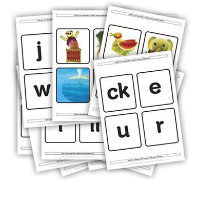 Fruity letter sets