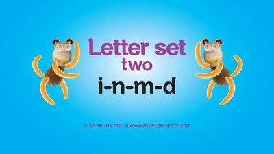 Learn Letter Set 2 Video • Week 2: i n m d