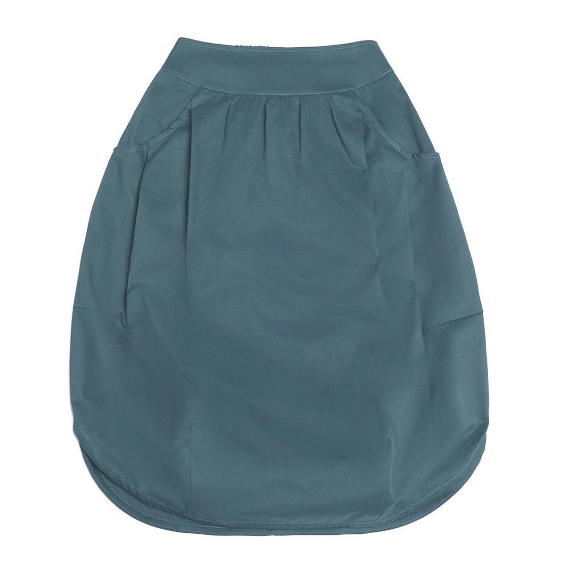 Взрослая юбка голубовато-бирюзовая (2018)