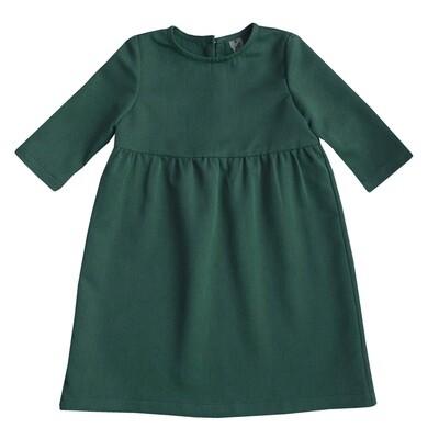 Платье детское зеленое