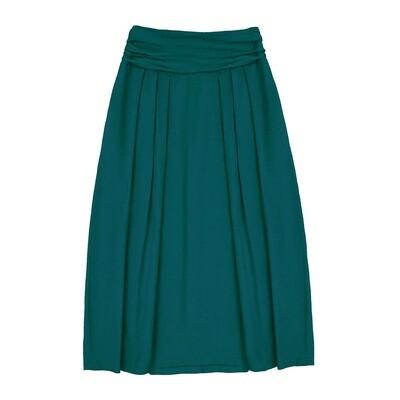 Взрослая юбка изумрудная (весна-лето 2020)