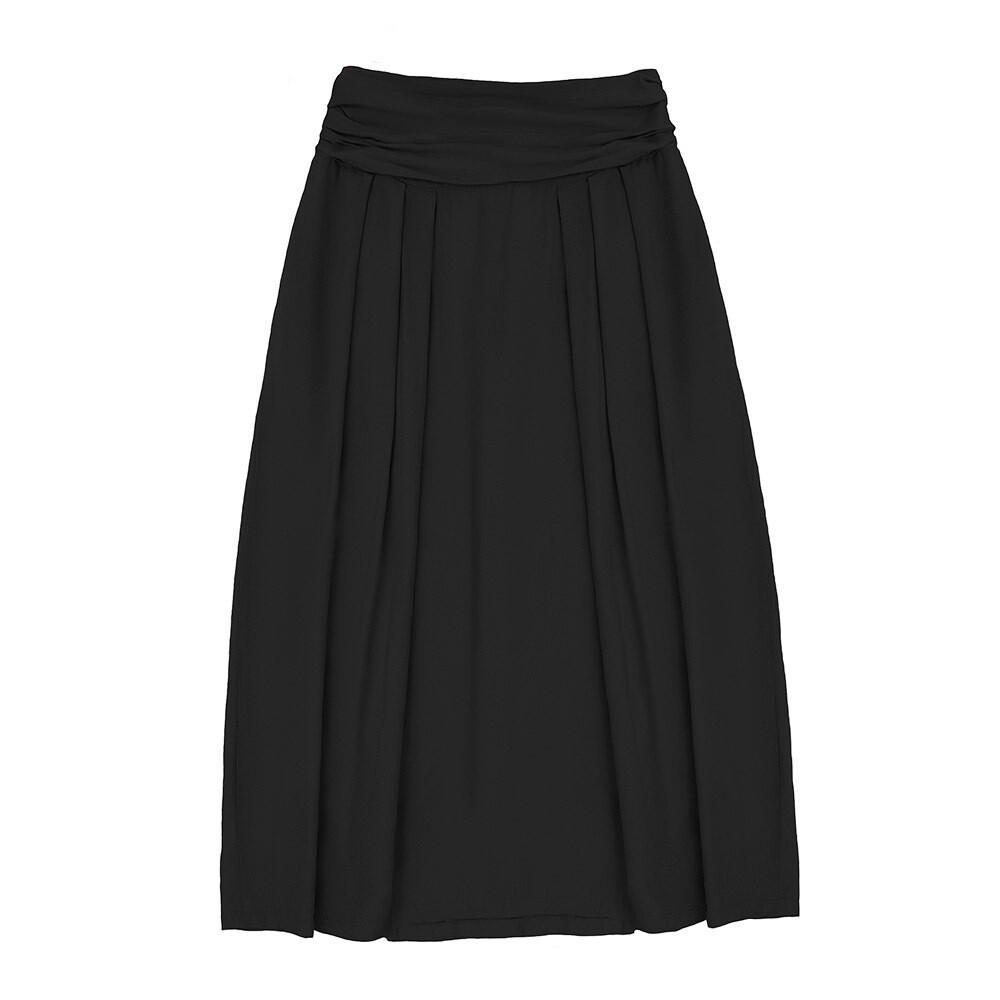 Взрослая юбка черная (весна-лето 2020)
