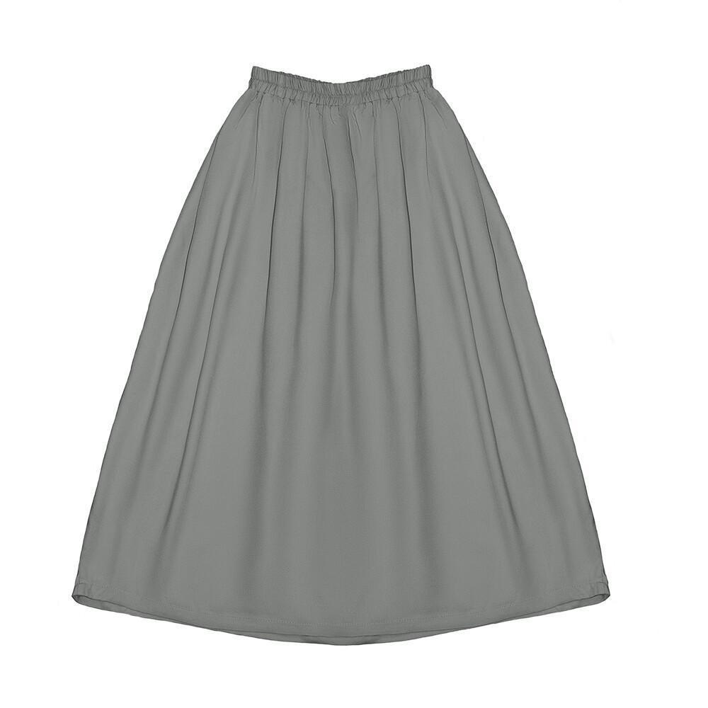 Подростковая юбка серая (весна-лето 2020)