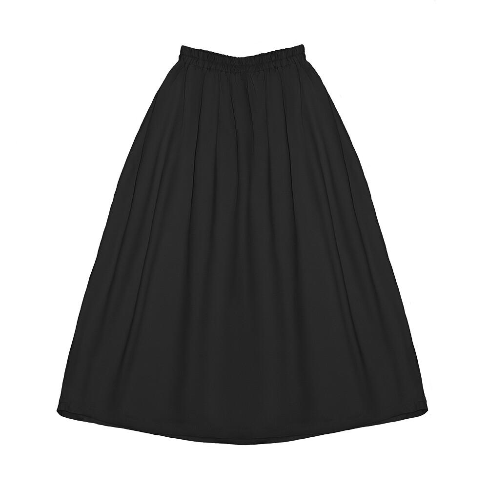 Подростковая юбка черная (весна-лето 2020)