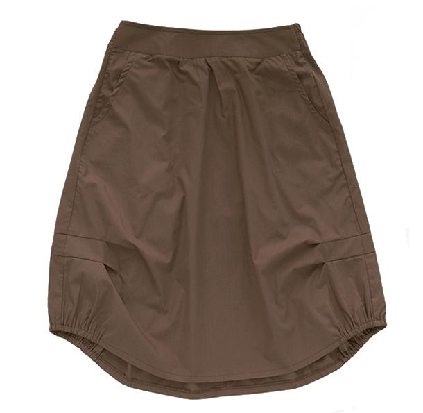 Взрослая юбка коричневая (лето 2016)