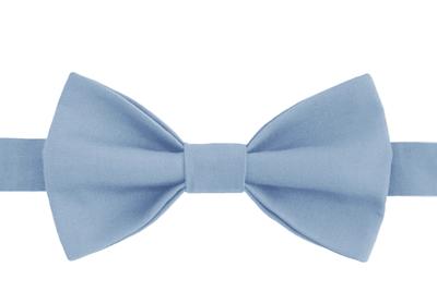 Галстук-бабочка унисекс голубой