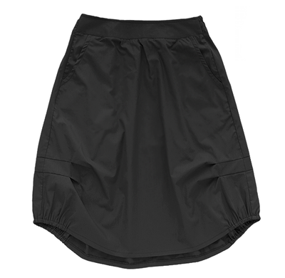 Взрослая юбка чёрная (лето 2016)