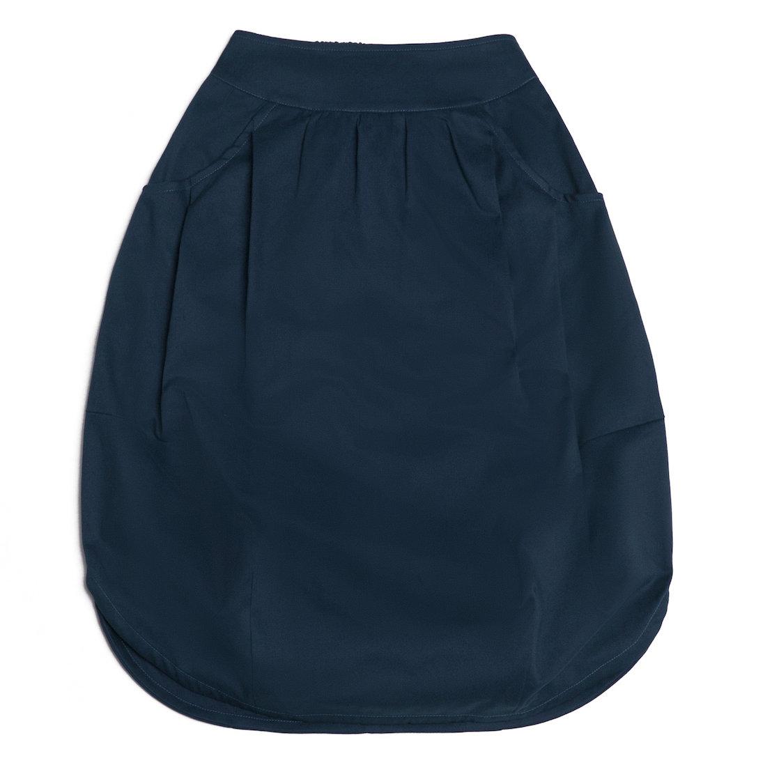Взрослая юбка синяя (2018)