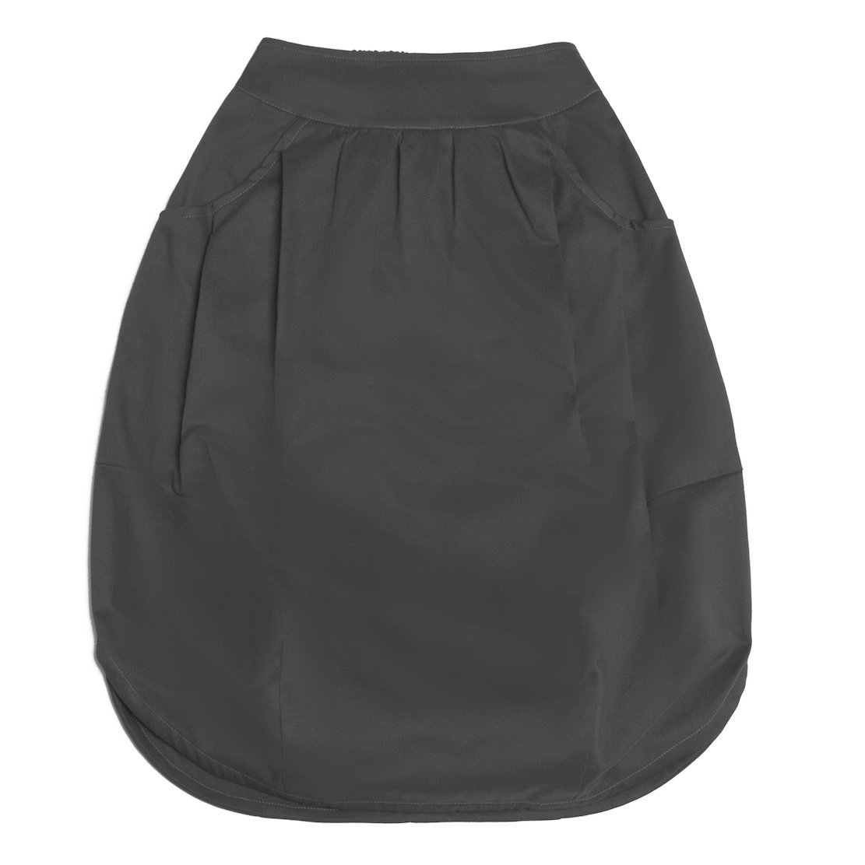 Взрослая юбка антрацит (2018)