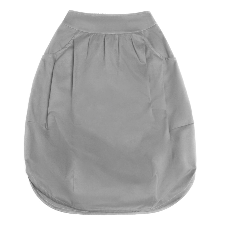 Взрослая юбка светло-серая (2018)